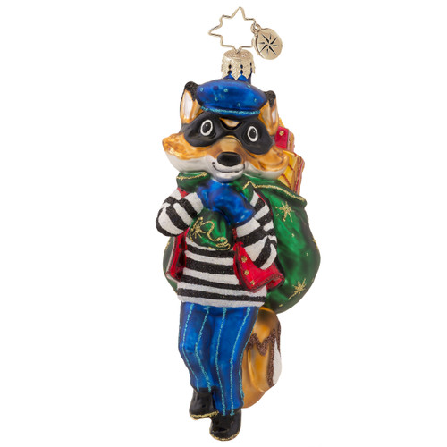 Christopher Radko's Foxy Bandit