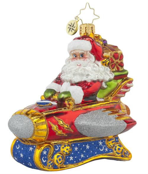 Rocketing Around Santa