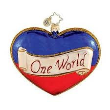 Christopher Radko's A Heart for Haiti Charity ornament