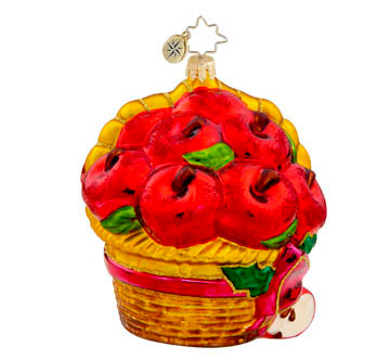 Christopher Radko's Fruitful Basket