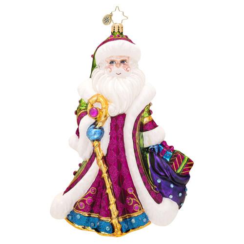 Christopher Radko's Winter Sparkle Santa