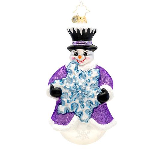 Christopher Radko's Flakey Frosty