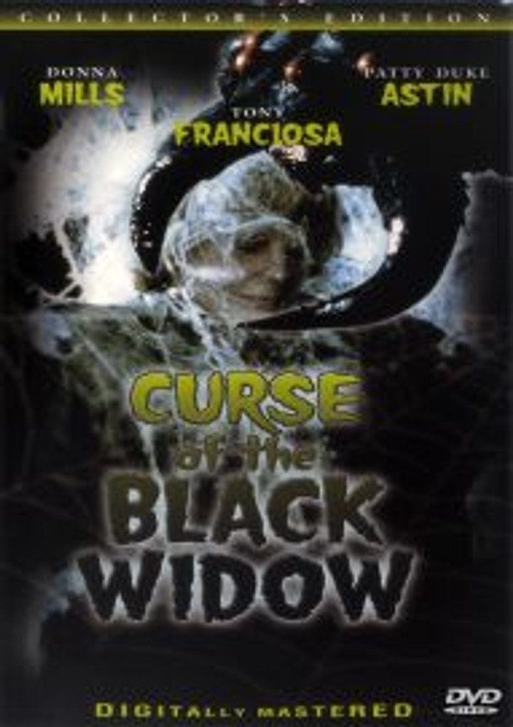 Curse of the Black Widow Rare T.V. Horror Flick! Dvd