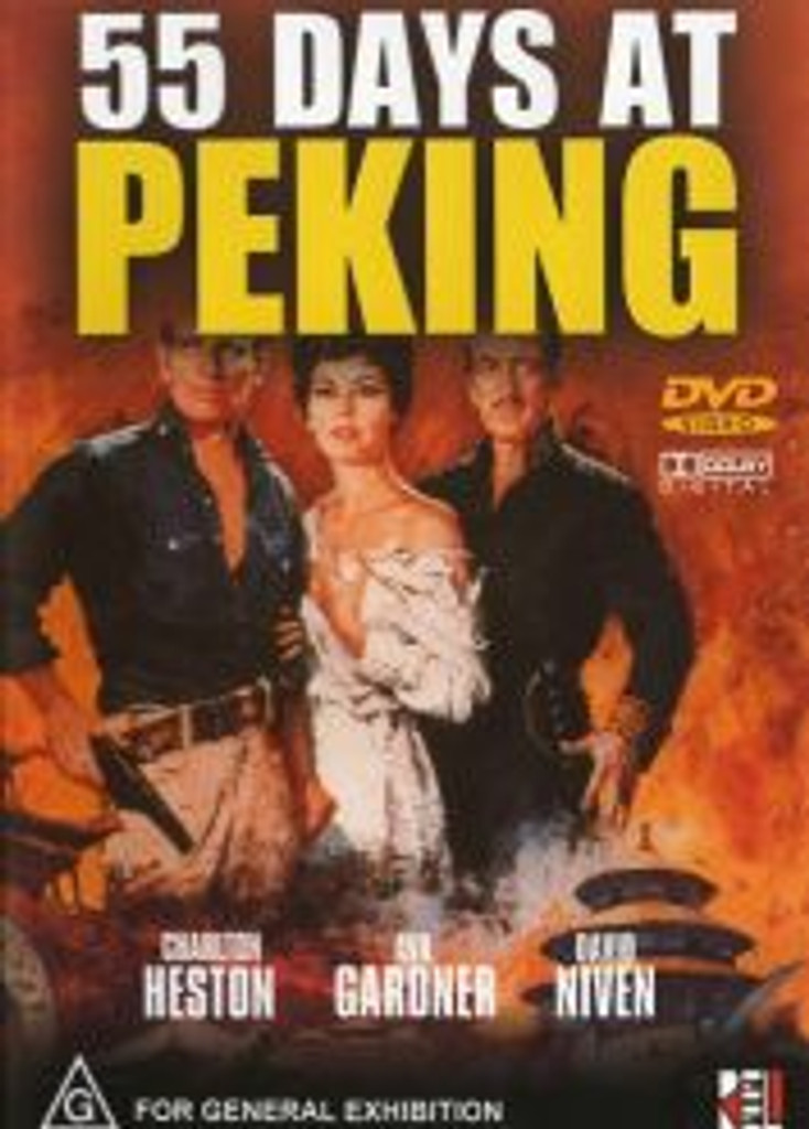 55 Days at Peking Digitally Remastered Playable All-Regions Dvd