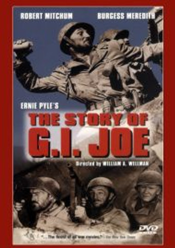The Story of G.I. Joe Robert Mitchum, Burgess Meredith Dvd