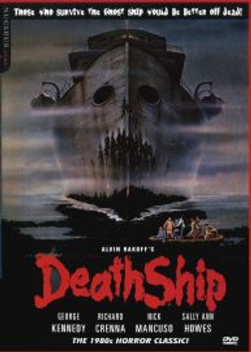 DeathShip 1983 Horror Cult Classic Playable All-Regions Dvd