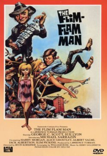The Flim Flam Man George C. Scott Dvd