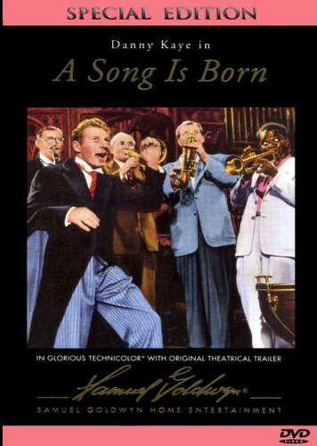 A Song is Born Danny Kaye Dvd
