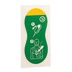 Q-CPR Compression Sensor Adhesive Pads (10) (1st Gen)