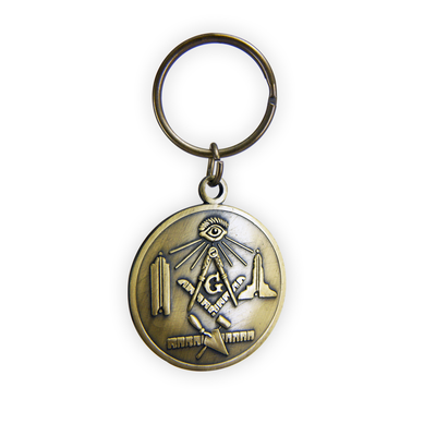 All-Metal Key Chain