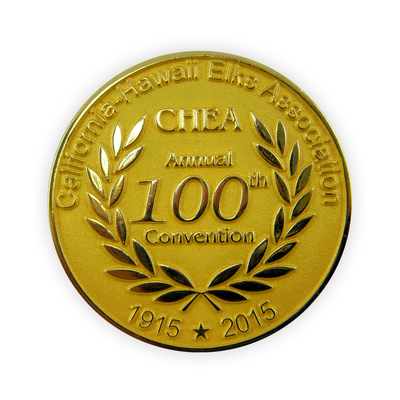 All-Metal Die-Struck Steel Challenge Coin