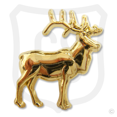 3-D Standing Elk