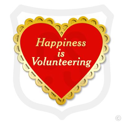 Happiness is Volunteering