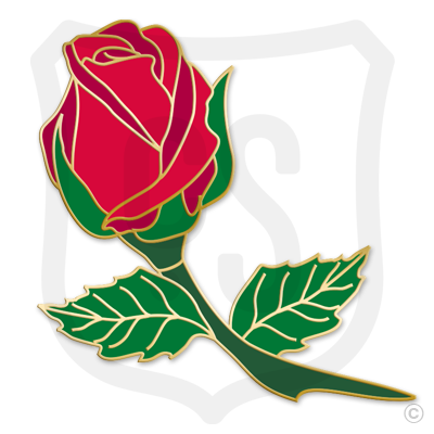 Red Rose Bud (Flower)