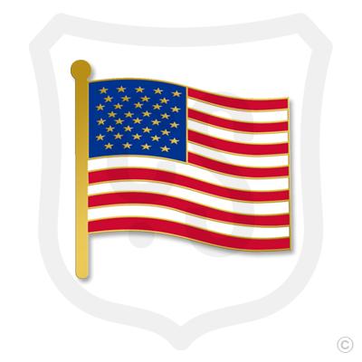 Small USA Flag (American)