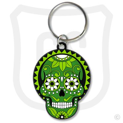 Sugar Skull (Day of the Dead) Green