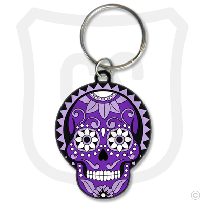 Sugar Skull (Day of the Dead) Purple