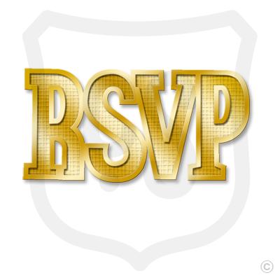 RSVP (Florentine Pattern)