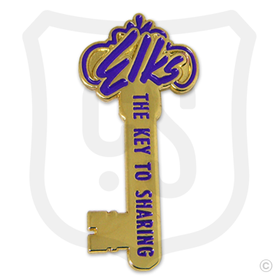 Elks the key to sharing