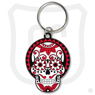 Sugar Skull (Day of the Dead) White & Red