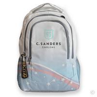MVP Bat Bag Tag on Backpack