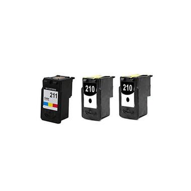 PG 210 CL 211 High Capacity Printer Ink Cartridge For Canon Printers PIXMA IP2702 3PK Image 1