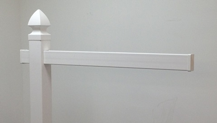 """47"""" Replacement Arm - White"""