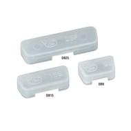 Black Box Dust Covers, DB9, Male, 25-Pack CDC00100-25PAK