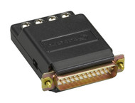 Black Box RS-232 to Current-Loop Interface-Powered Bidirectional Converter, Male CL412A-M