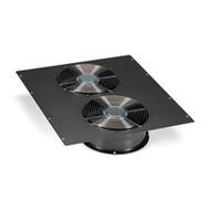 "Black Box Dual 10"" Fan (1100-cfm) Top Panel for Elite Cabinets ECTOP2F10"
