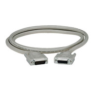 Black Box DB15 Thumbscrew Cable, Male/Female, 2-ft. (0.6-m) EGM16T-0002-MF