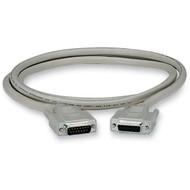 Black Box DB15 Thumbscrew Cable, Male/Female, 50-ft. (15.2-m) EGM16T-0050-MF
