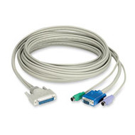 Black Box CAT5 Extender Cable with DDC Support, 3-ft. (0.9-m) EHN230D-0003
