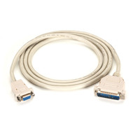 Black Box Premium AT Modem Cable, DB9 Female/DB25 Male, 9-Conductor, 24 AWG, 50- EVMTBMC-0050