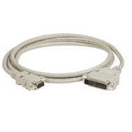 Black Box AT Serial Printer Null-Modem Cable (CL2), DB25 Male/DB9 Female, 25-ft. EVMTBPC-0025
