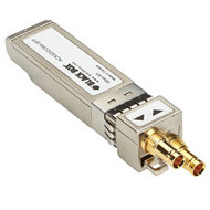 Black Box DKM FX SDI Coaxial SFP Module - BNC connectors for SD-SDI, HD-SDI, and ACXSDICOAX-SFP
