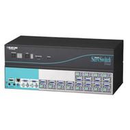 Black Box 12-Port ServSwitch Duo KVM Switch KV6112FA-R2