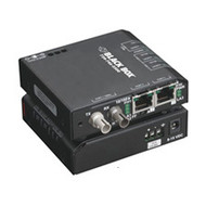 Black Box Extreme Media Converter Switch, 10-/100-Mbps Copper to 100-Mbps Fiber, LBH100A-P-SC-24