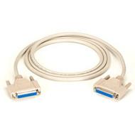 Black Box DB25 Extension Cable, DB25 Female, DB25 Female, 6-ft. (1.8-m) BC00701