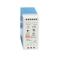 Black Box DIN Rail Power Supply, 40 Watts, 12 VDC MDR-40-12