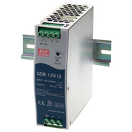 Black Box DIN Rail Power Supply, 120 Watts, 12 VDC SDR-120-12