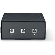 Black Box 8-Pin Mini DIN Switch, ABC (2 to 1), Chassis Style A SW340A