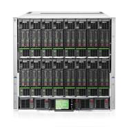 HP c7000 Platinum Encl 1PH 10Fans 6PWR 16 x OV Lic 763850-B21 (no blades installed)