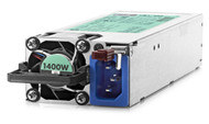HP 1400W Flex Slot Platinum Plus Hot Plug Power Supply 220V