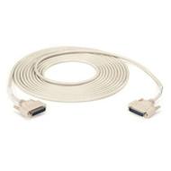 Black Box DB25 Extension Cable, DB25 Male, DB25 Male, 25-ft. (7.6-m) BC00715