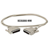 Black Box DB25 Serial Null-Modem Cable BC05000-0006-FF