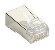 Black Box Black Box Connect CAT5e RJ-45 Modular Plugs - Shielded, 100-Pack C5E-MP-S-100PAK