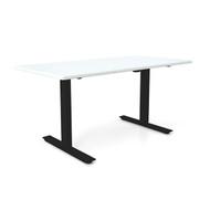 "Height Adjustable 30""x60"" Premium Desk - Icicle"
