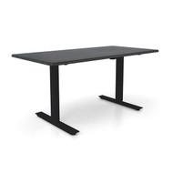 "Height Adjustable 30""x 60"" Ergonomic Business Desk - Sable"