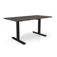"Height Adjustable 30""x 48"" Ergonomic Business Desk - Tunisia Stone"